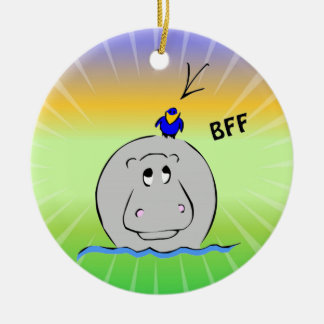 Birdie's Search for Hippo Christmas Tree Ornament