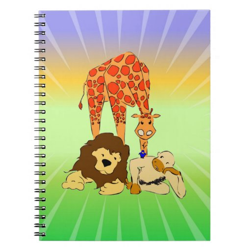 Birdie's Search for Hippo Spiral Notebooks