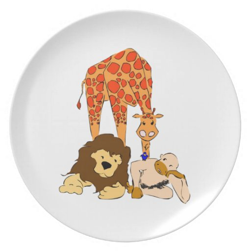 Birdie's Search for Hippo Party Plate
