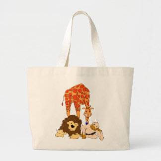 Birdie's Search for Hippo Canvas Bag