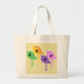 Birdies Shop Jumbo Tote Bag