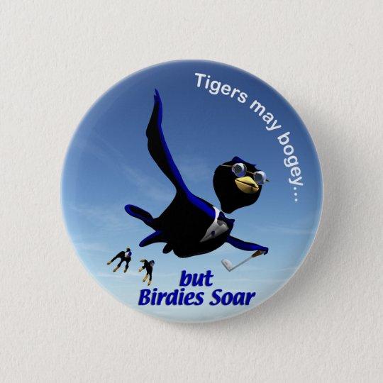 Birdies Soar 6 Cm Round Badge