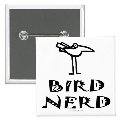 Birding, Birdwatching, Ornithology 15 Cm Square Badge