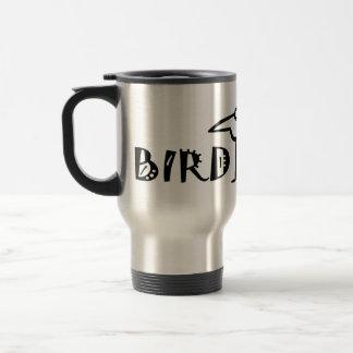 Birding, Birdwatching, Ornithology Stainless Steel Travel Mug