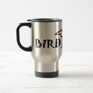 Birding, Birdwatching, Ornithology Travel Mug