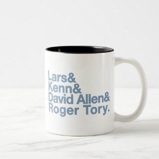 Birding Legends Two-Tone Coffee Mug