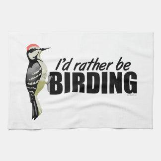 Birding Tea Towel