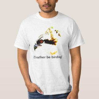 Birding tee shirt