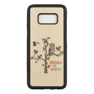 Birding Up North Carved Samsung Galaxy S8 Case