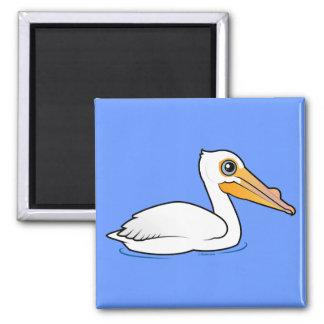 BIrdorable American White Pelican Magnet