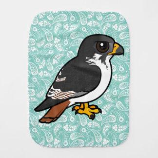 Birdorable Augur Buzzard Baby Burp Cloths