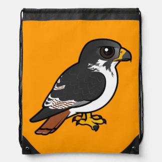 Birdorable Augur Buzzard Drawstring Bag
