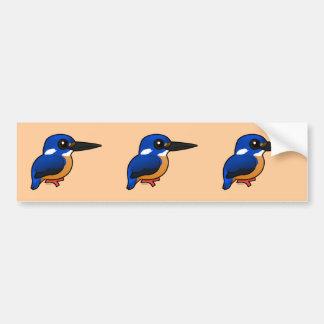 Birdorable Azure Kingfisher Bumper Sticker
