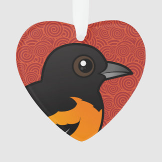 Birdorable Baltimore Oriole Ornament