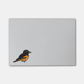 Birdorable Baltimore Oriole Post-it® Notes
