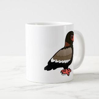 Birdorable Bateleur Jumbo Mugs
