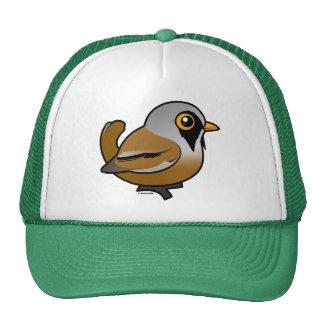 Birdorable Bearded Reedling Hat