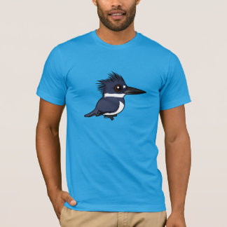 Birdorable Belted Kingfisher (male) T-Shirt