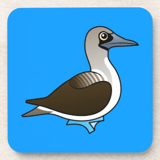 Birdorable Blue-footed Booby Drink Coaster