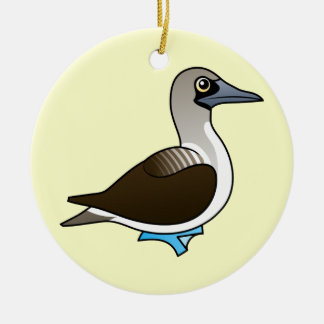 Birdorable Blue-footed Booby Christmas Ornament