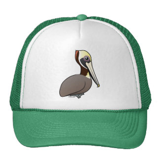 Birdorable Brown Pelican Trucker Hat