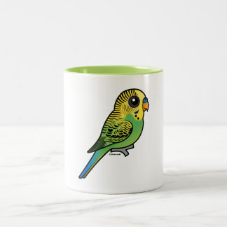 Birdorable Budgerigar Two-Tone Coffee Mug