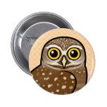 Birdorable Burrowing Owl Badges