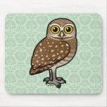 Birdorable Burrowing Owl Mouse Mat