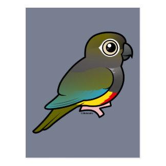 Birdorable Burrowing Parakeet Postcard
