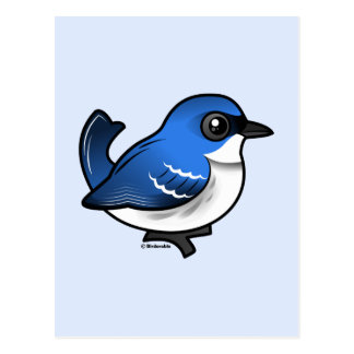 Birdorable Cerulean Warbler Postcard