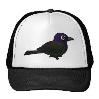 Birdorable Common Grackle Trucker Hats