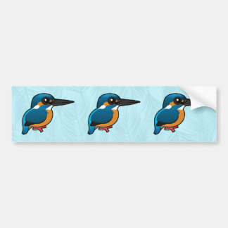 Birdorable Common Kingfisher Bumper Sticker