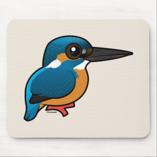Birdorable Common Kingfisher Mouse Pad