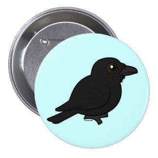 Birdorable Common Raven 7.5 Cm Round Badge