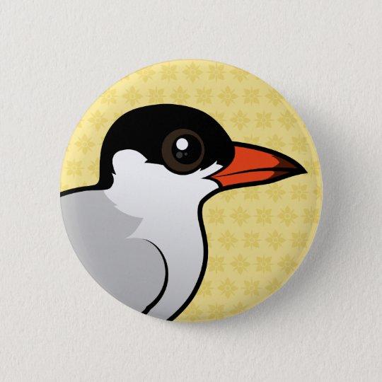 Birdorable Common Tern 6 Cm Round Badge