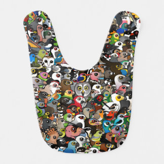 Birdorable Crowd Bib