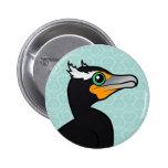 Birdorable Double-crested Cormorant Badges