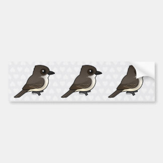 Birdorable Eastern Phoebe Bumper Sticker
