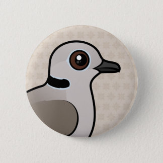 Birdorable Eurasian Collared Dove 6 Cm Round Badge