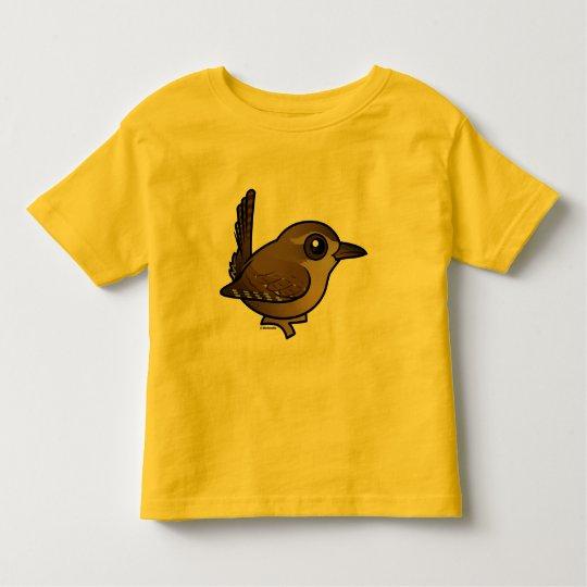 Birdorable Eurasian Wren Toddler T-Shirt