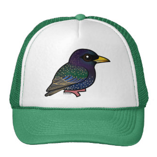 Birdorable European Starling Cap