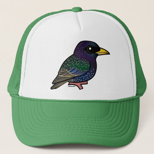 Birdorable European Starling Trucker Hat