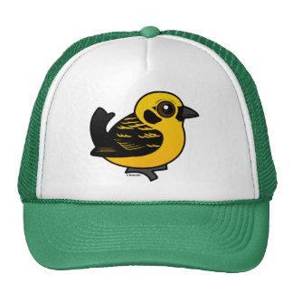Birdorable Golden Tanager Trucker Hats