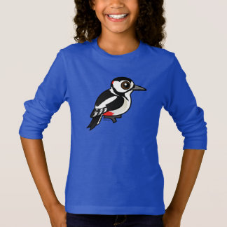 Birdorable Great Spotted Woodpecker T-Shirt