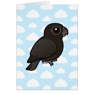 Birdorable Greater Vasa-Parrot Greeting Card