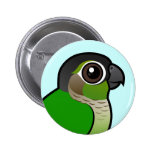 Birdorable Green-cheeked Conure Button