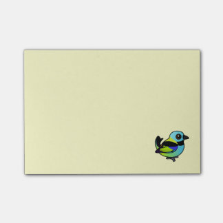 Birdorable Green-headed Tanager Post-it® Notes