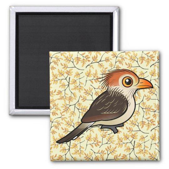 Birdorable Guira Cuckoo Square Magnet