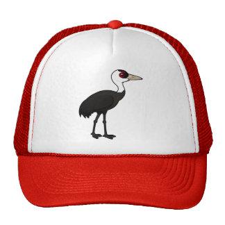 Birdorable Hooded Crane Trucker Hat