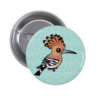 Birdorable Hoopoe 6 Cm Round Badge